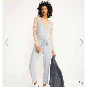 Brushmarl Sleeveless Jumpsuit
